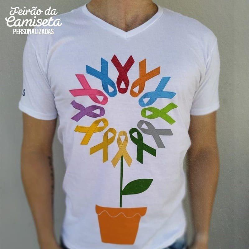 camiseta personalisada prevencao
