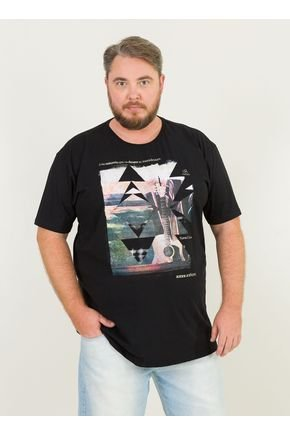 1 camiseta masculina plus size violao e mar sc urien preto