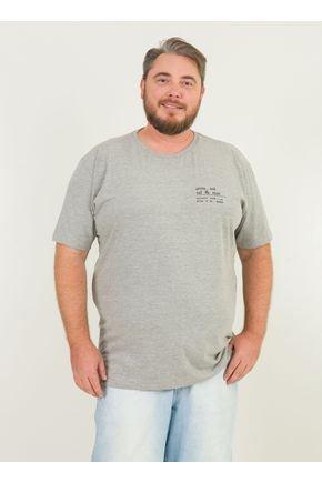1 camiseta masculina plus size frescobol urien mescla