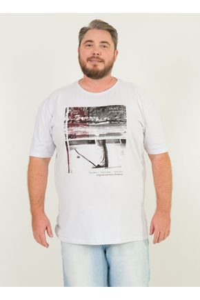 1 camiseta masculina plus size brava surf skate urien branca