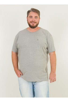1 camiseta masculina plus size faca com amor ou nem faca urien mescla