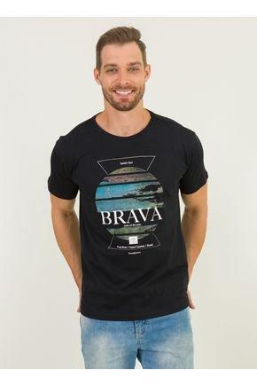 1 camiseta masculina praia brava urien preto