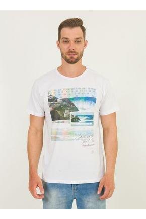 1 camiseta masculina praia praia da joaquina urien branca