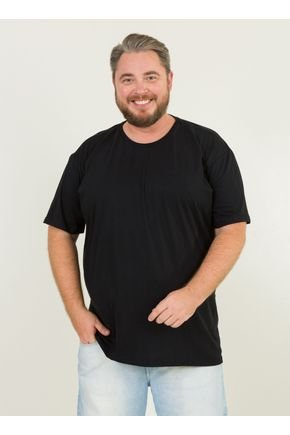 1 camiseta masculina plus size basica urien preto jpg