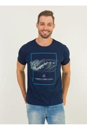 1 camiseta masculina onda urien azul marinho