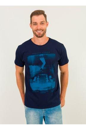 1 camiseta masculina skate brava urien azul marinho